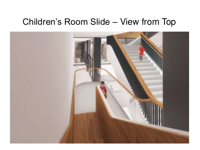 Children's Room Slide – View from Top