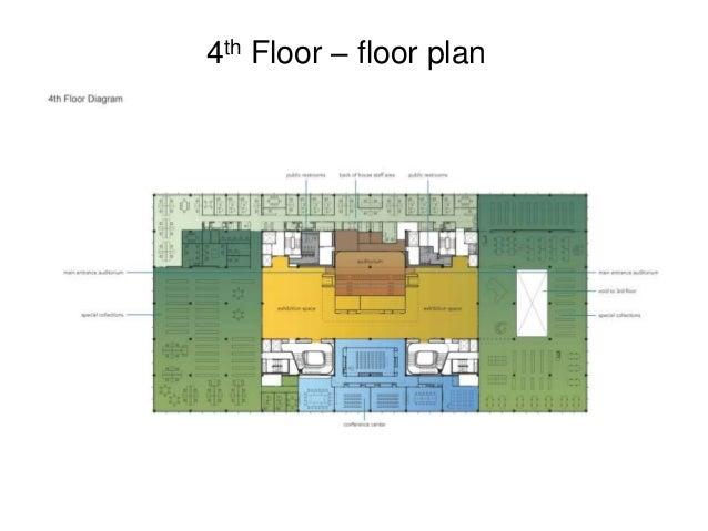 4th Floor – floor plan