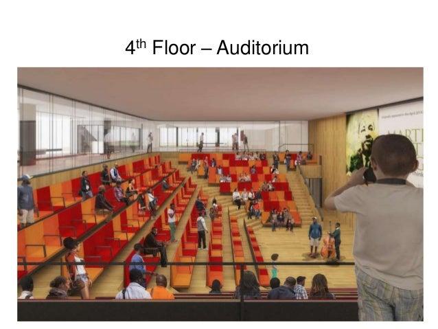 4th Floor – Auditorium
