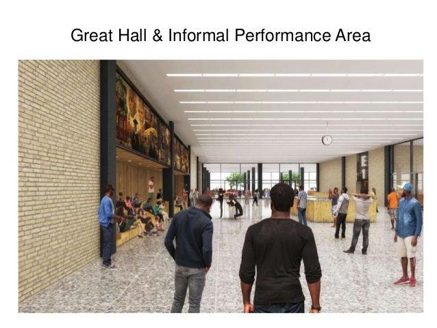 Great Hall & Informal Performance Area