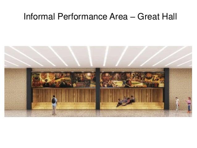 Informal Performance Area – Great Hall