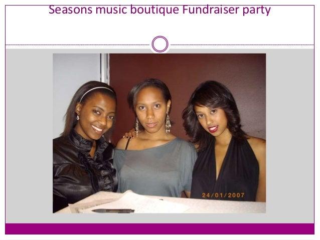 Seasons music boutique Fundraiser party