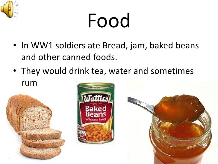 Canned Food For Soldiers
