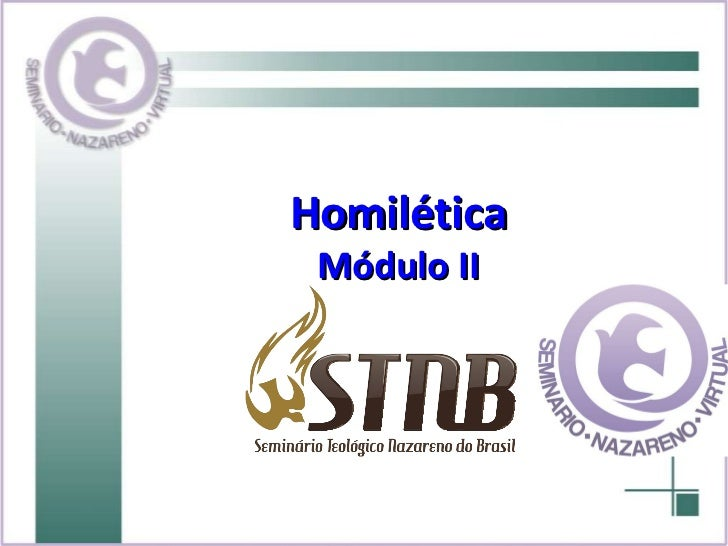 Homilética Módulo II