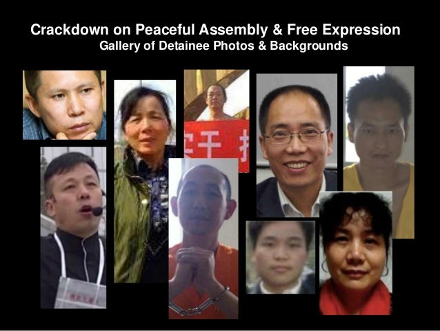 Crackdown on Peaceful Assembly & Free Expression Gallery of Detainee Photos & Backgrounds
