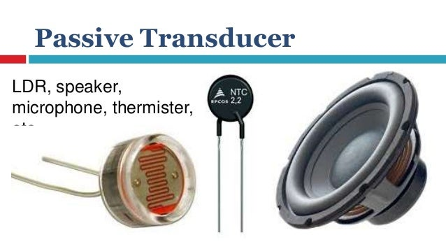 Slideshow on transducers