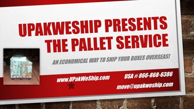 Thank You for your interest in our popular Pallet Service! If you have any further questions about the service, please con...