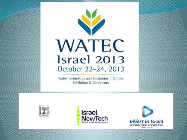 Following the Economic Attachés Conference in Jerusalem last December, where we presented the concept ofthe WATEC ISRAEL 2...