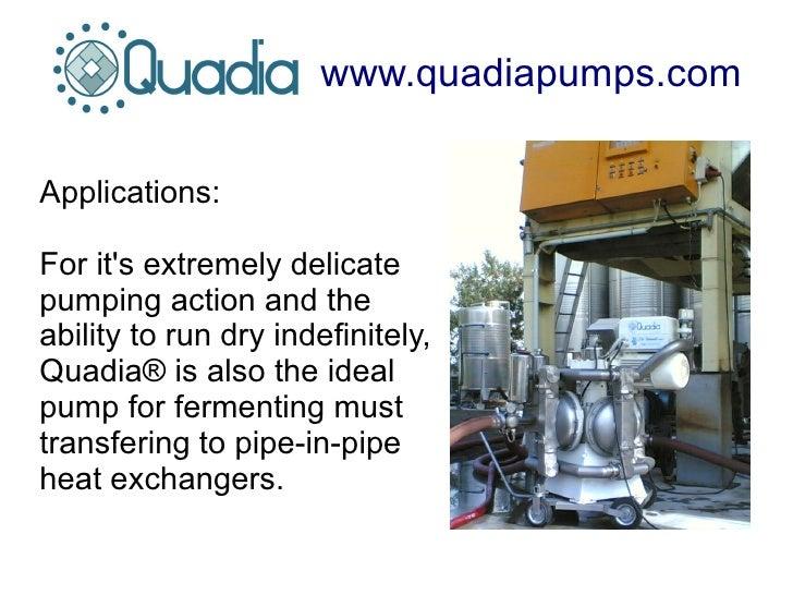 Quadia electric driven quad diaphragm pump for valuable wines 6 ccuart Image collections