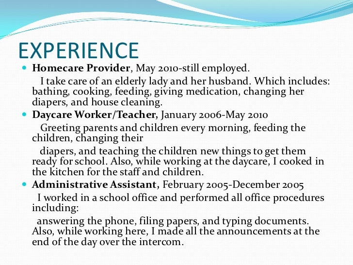 house cleaning resume cover letter