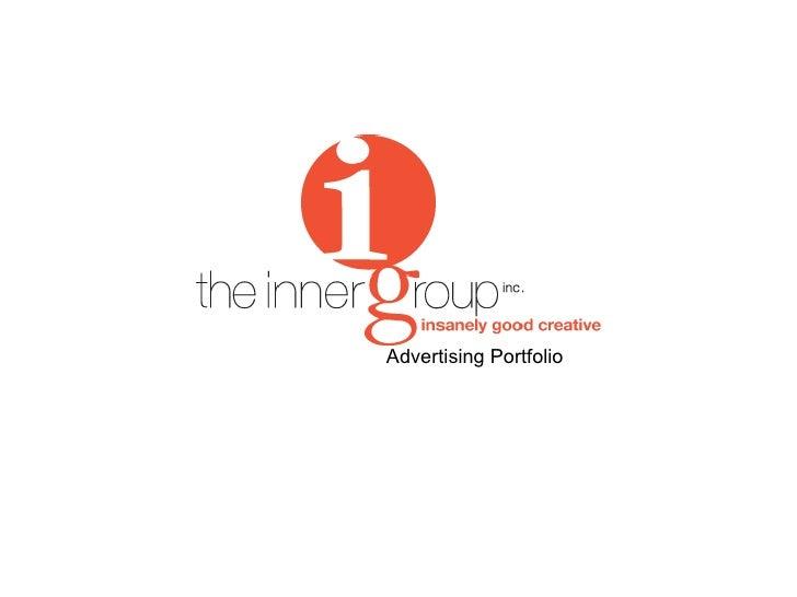 Advertising Portfolio