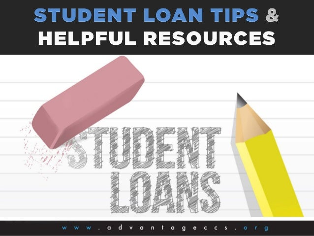 Create a student loan checklist that lists all of your student loans. A blank form is available at www.finaid.org/studentl...