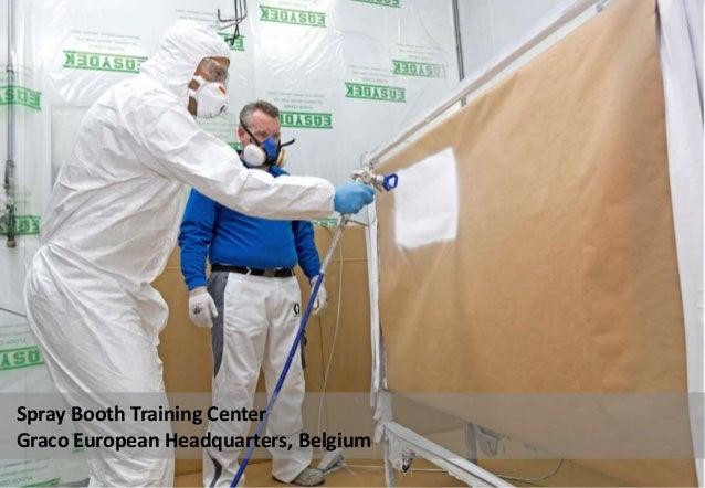 Spray Booth Training Center Graco European Headquarters, Belgium