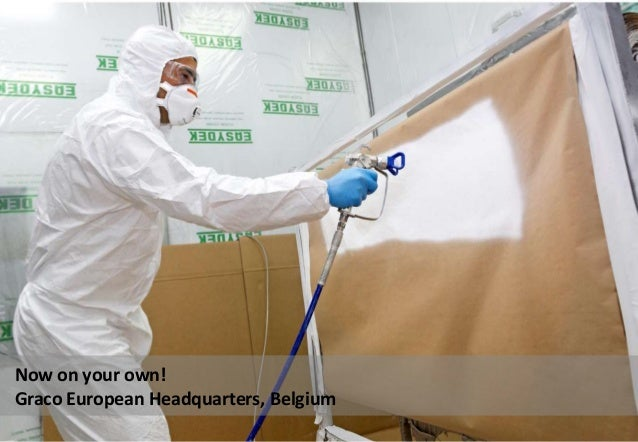 Now on your own! Graco European Headquarters, Belgium