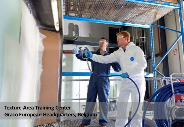 Texture Area Training Center Graco European Headquarters, Belgium