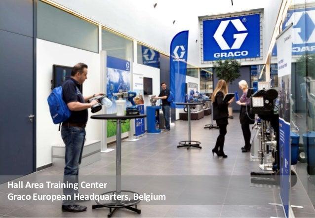 Hall Area Training Center Graco European Headquarters, Belgium