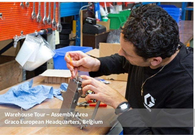 Warehouse Tour – Assembly Area Graco European Headquarters, Belgium