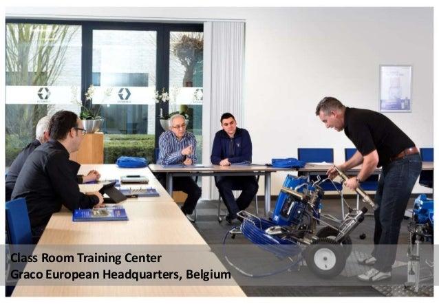 Class Room Training Center Graco European Headquarters, Belgium
