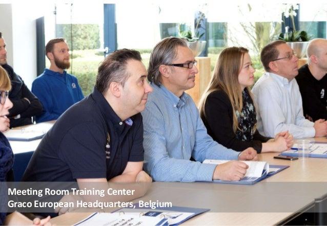 Meeting Room Training Center Graco European Headquarters, Belgium