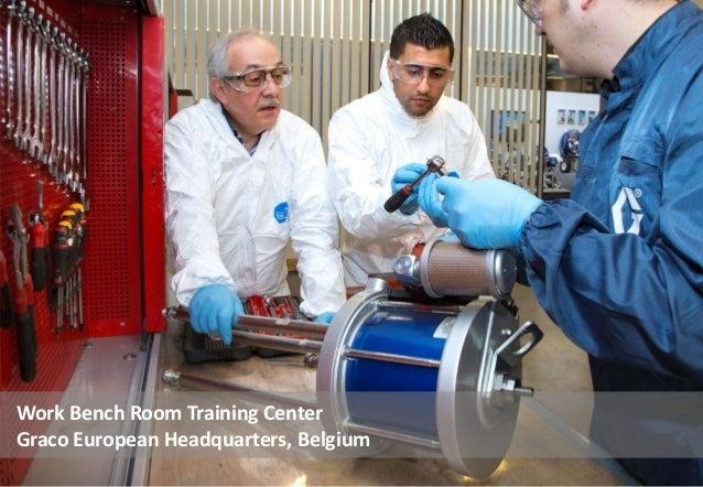 Work Bench Room Training Center Graco European Headquarters, Belgium