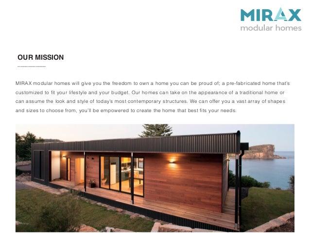 Mirax Modular Homes crowdfunding campaign\