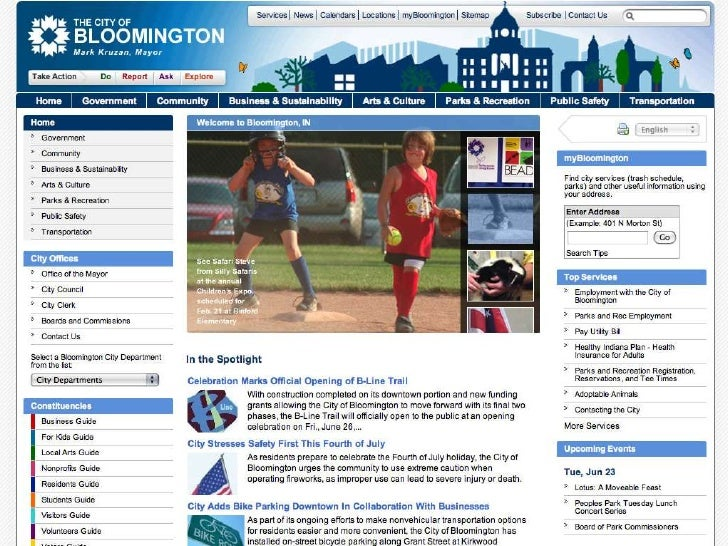 Homepage Slideshow Proposals<br />