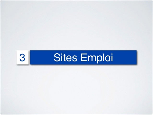 internet et recrutement 2013