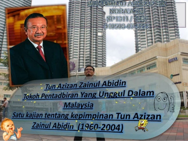 Azizan Zainul Abidin VIVA PBS SEJARAH STPM 2014 Tun Azizan Zainul Abidin