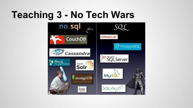Teaching 3 - No Tech Wars