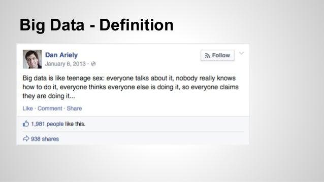 Big Data - Definition