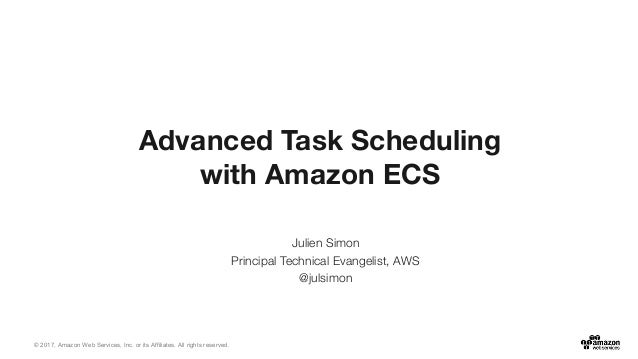 © 2017, Amazon Web Services, Inc. or its Affiliates. All rights reserved. Julien Simon Principal Technical Evangelist, AWS...