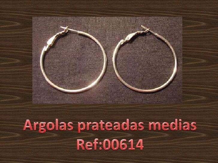 Argolasprateadas medias<br />Ref:00614<br />