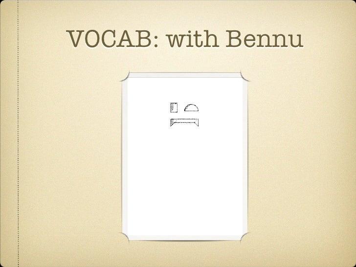 VOCAB: Week Six Slides Slide 3