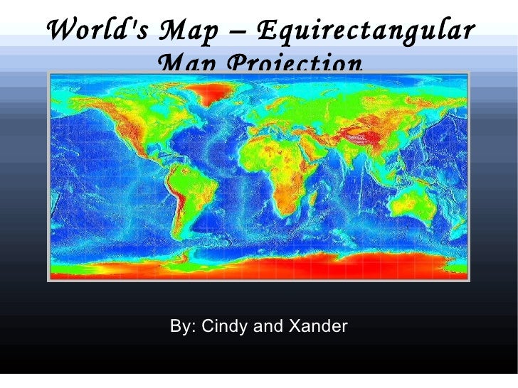 Map Projection Presentations