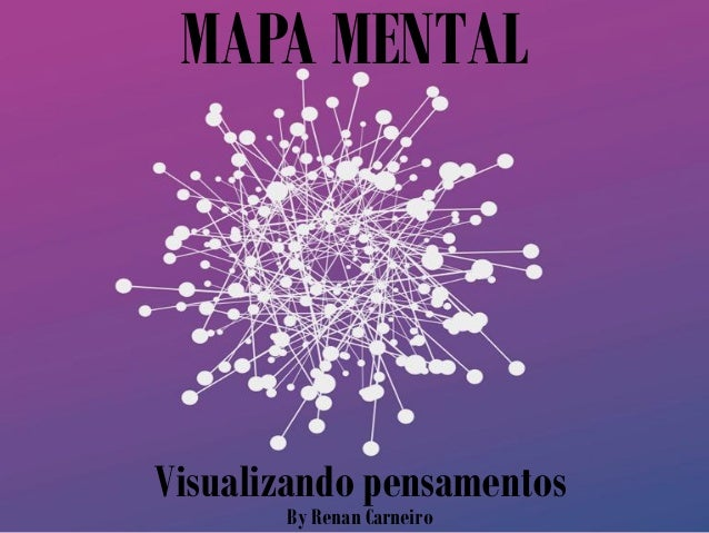 MAPA MENTAL Visualizando pensamentos By Renan Carneiro