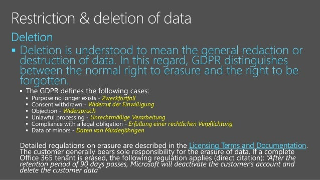 Rencore Webinar: Myth-busting GDPR in Office 365 & Azure