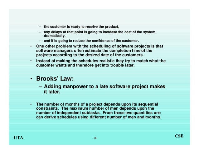 engineering essay man month mythical software Buy the mythical man-month: essays on software engineering, anniversary edition 2 by frederick p brooks jr (isbn: 8580001065793) from amazon's book store everyday.