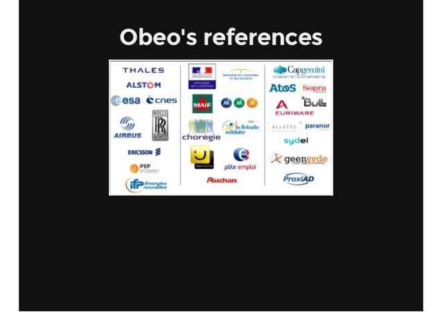 Obeo's references
