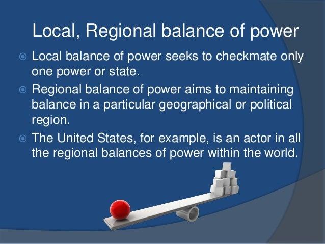 Balance of power theory