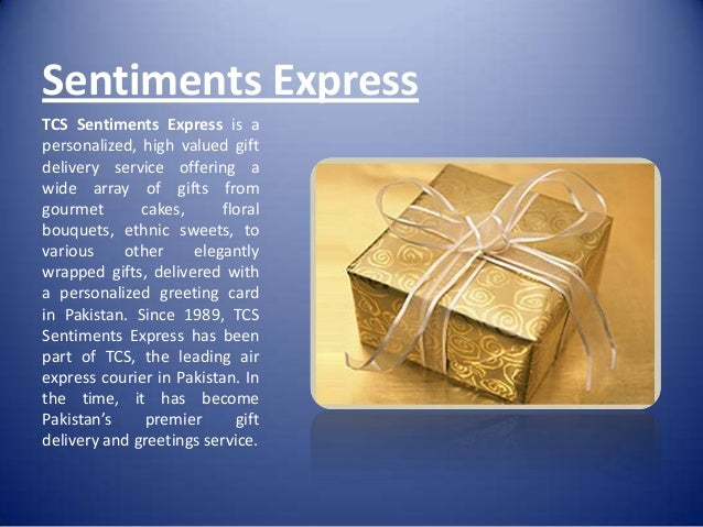 ... 18. Sentiments Express TCS ...
