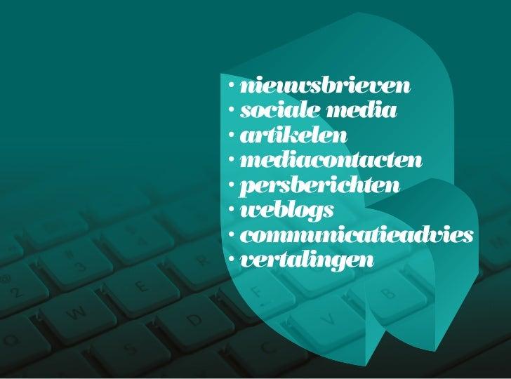 Bedrijfspresentatie J&V Slide 3