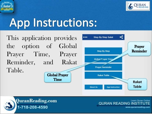 Step By Step Salat Islamic Application For Smartphone A Complete