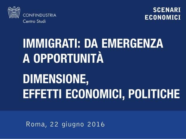 Francesca Mazzolari e Luca Paolazzi – Centro Studi Confindustria