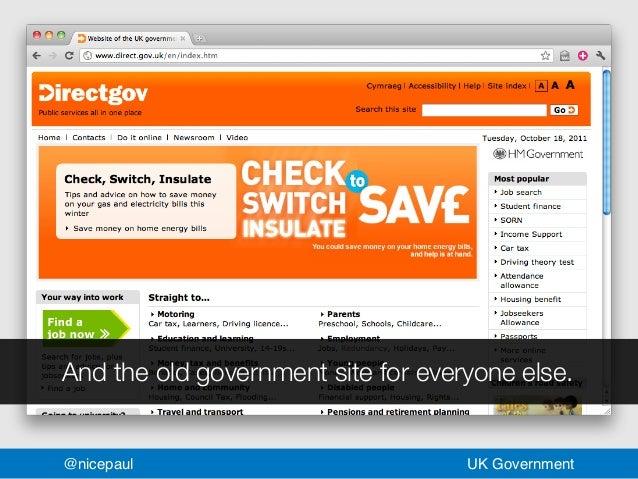 Revolutionising gov nicepaul uk government 12 spiritdancerdesigns Images