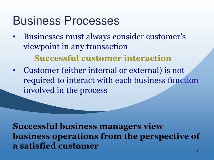business functions and process Operations management (om) is the business function responsible for managing the process of creation of goods and services it involves planning, organizing.