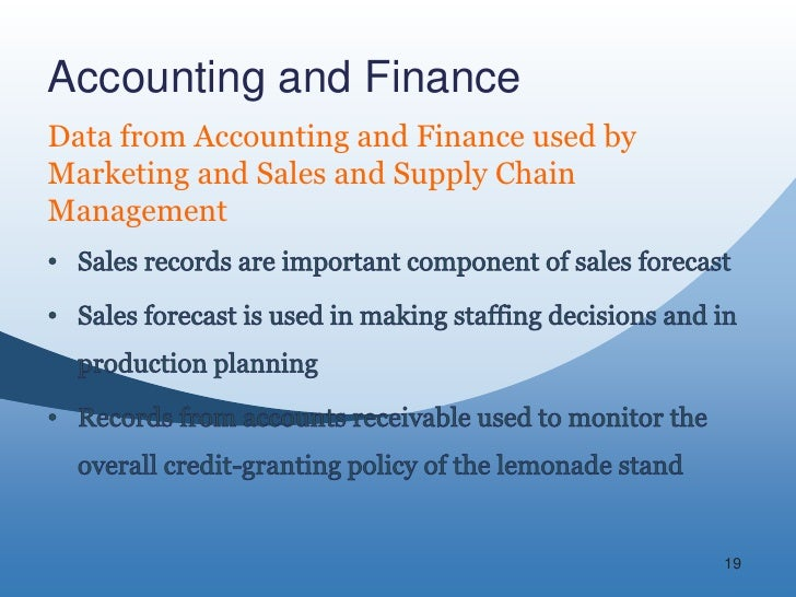 Accounting and finance functions in an Research paper Service
