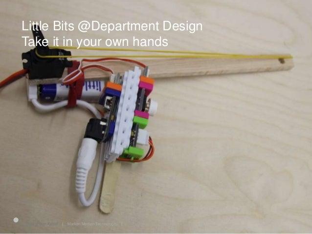 Little Bits 25.06.2015Prof. Peter Kabel   Marken Medien Technologie  