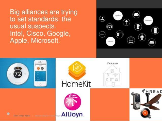 25.06.2015Prof. Peter Kabel   Marken Medien Technologie   IoT brings a new set of challenges