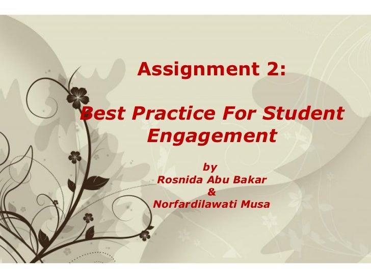 Slides presentation   assignment 2