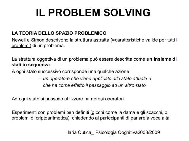 Problem solving mnestico